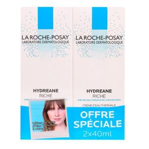 Hydréane riche 2x40ml