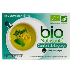 Infusion bio confort gorge 20 sachets