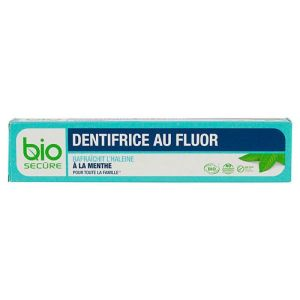 Dentifrice au fluor bio 75mL
