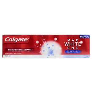 Max White One Optic dentifrice au fluor 75ml
