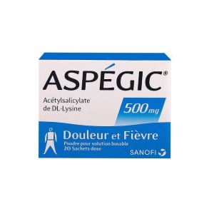 Aspégic 500 mg 20 sachets