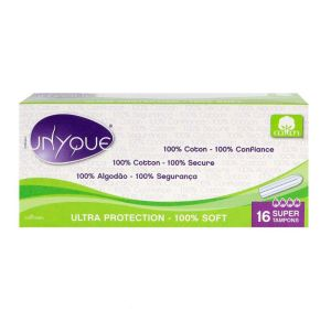 16 Tampons sans applicateur Super  flux abondant