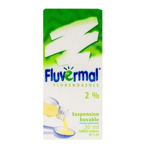 Fluvermal suspension buvable 30ml