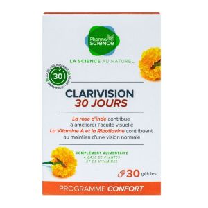 Clarivision programme 30 jours