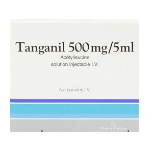 Tanganil 500 mg / 5 ml solution injectable I.V. 5 ampoules