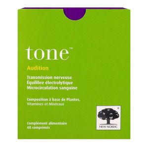 Tone audition 60 comprimés