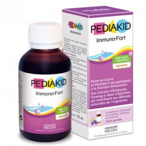 Pediakid Sirop Immuno Fort 125ml