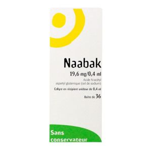 Collyre Naabak 36x0,4ml