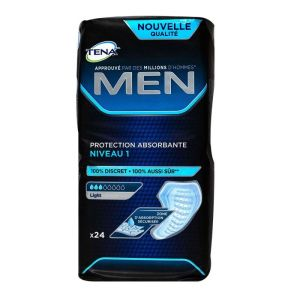 Men 24 protections absorbantes niveau 1
