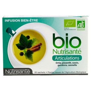 Infusion bio articulations 20 sachets