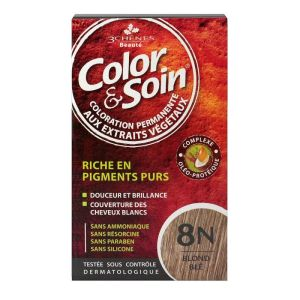 Color & Soin coloration permanente - 8N blond blé