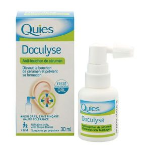 Doculyse spray anti-bouchon 30ml