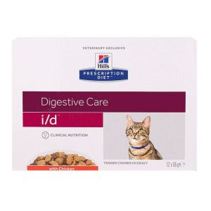 Chat i/d Digestive Care poulet 12x85g