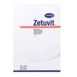 Zetuvit 10 pansements absorbants 20x25cm