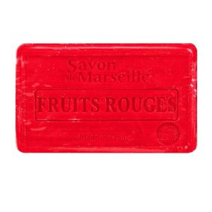 Savon de Marseille fruits rouges 100g