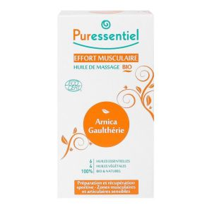 Huile massage effort musculaire arnica & gaulthérie 200mL