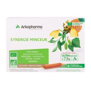 Synergie minceur 20 ampoules