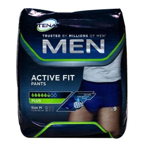 Men Active Fit 9 pants plus M