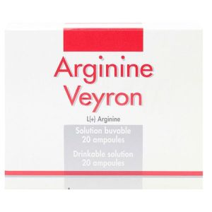 Arginine Veyron solution buvable 20ampoules
