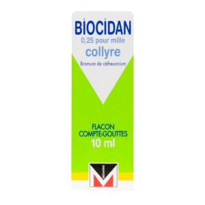 Biocidan collyre10ml