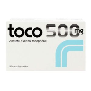 Toco 500mg 30 capsules molles