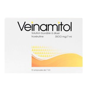 Veinamitol 3500mg 10 ampoules
