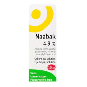 Collyre Naabak 4,9% 10ml