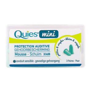 Mini protection auditive mousse 3 paires