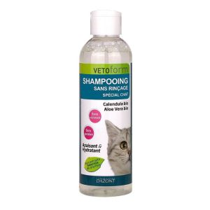 Shampooing sans rinçage chat 200ml