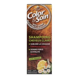 Color & Soin shampooing 250ml - cheveux clairs