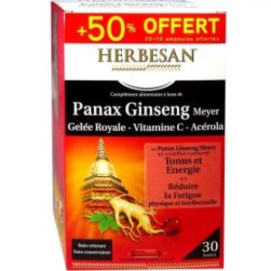 Panax Ginseng - 30 ampoules