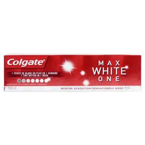 Max White One menthe sensation dentifrice 75ml