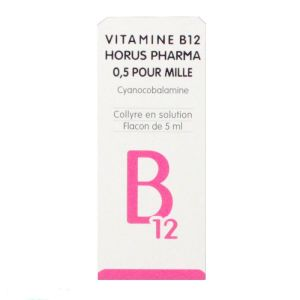 Vitamine B12 collyre 5ml