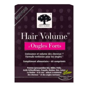 Hair Volume & ongles forts 60 comprimés