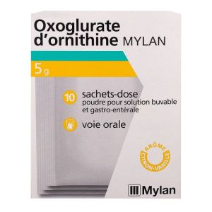 Oxoglurate d'ornithine 10 x 5g